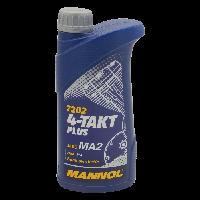 Масло моторное MANNOL 4Т PLUS 1L 10W40 SL (7202)