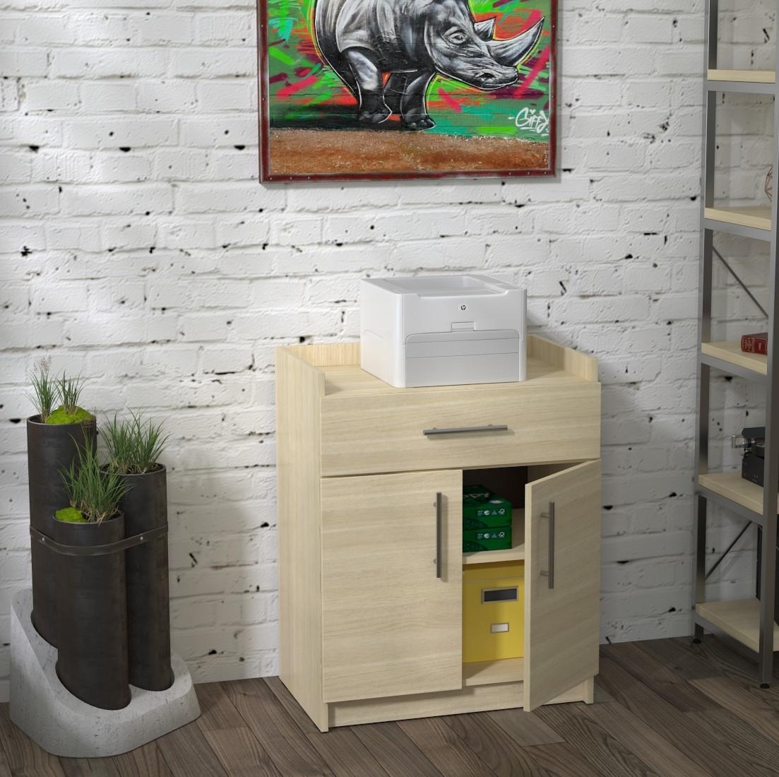 Тумба для принтера Loft Design L-640 Дуб Борас