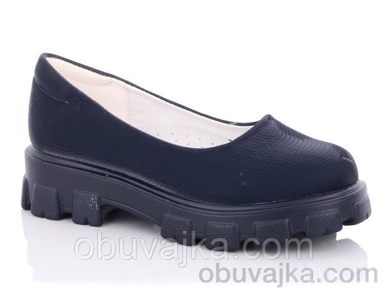 Підліткові туфлі для дівчаток від виробника Yalike (31-37)