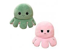 М'яка іграшка Восьминіг Перевертиш Mood Octopus Original green, 16 см (W100329)