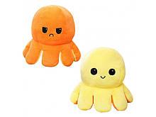 М'яка іграшка Восьминіг Перевертиш Mood Octopus Original orange, 16 см (W100328)