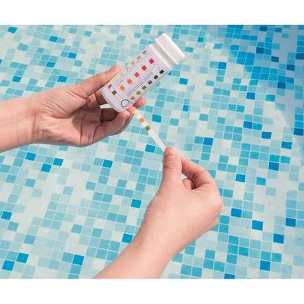 50 Полоскок для тестування води Bestway 58142 3в1 (Ph, вільний хлор, загальна лужність), фото 2