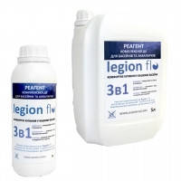 Безхлорне засіб для комплексного очищення води в басейні Legion FLO (концентрат, ємкість 1л, 5л)