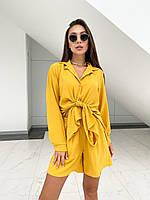 Літній жіночий костюм сорочка і шорти, фото 1