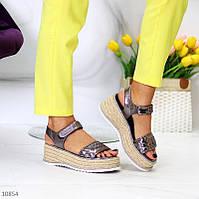 """Женские стильные босоножки на платформе Никель """"Dream"""", фото 1"""