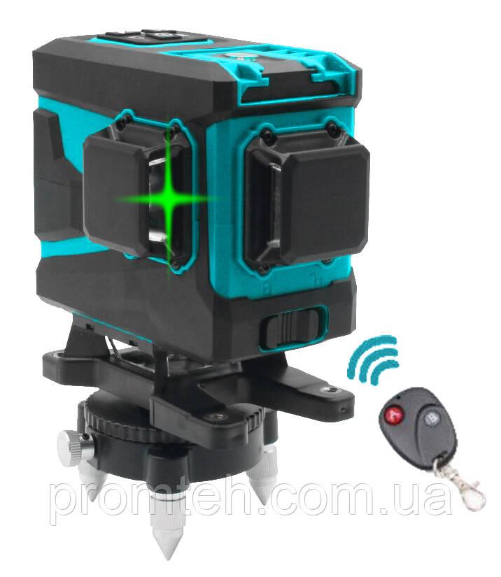 3D линейный лазерный нивелир KRAISSMANN 12 3D-LLG 25 RG Профессиональная линия