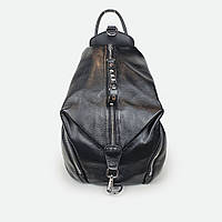 Стильный рюкзак женский кожаный черный 2559 28* 25* 14