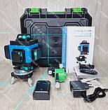 4D Лазерный уровень нивелир KRAISSMANN 16 4D-LLA 30 RB синий луч, фото 3