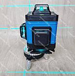 4D Лазерный уровень нивелир KRAISSMANN 16 4D-LLA 30 RB синий луч, фото 7