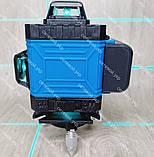 4D Лазерный уровень нивелир KRAISSMANN 16 4D-LLA 30 RB синий луч, фото 4