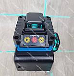 4D Лазерный уровень нивелир KRAISSMANN 16 4D-LLA 30 RB синий луч, фото 6
