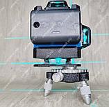 4D Лазерный уровень нивелир KRAISSMANN 16 4D-LLA 30 RB синий луч, фото 8
