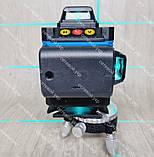 4D Лазерный уровень нивелир KRAISSMANN 16 4D-LLA 30 RB синий луч, фото 5