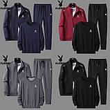 PLAYBOY original чоловічий спортивний костюм-трійка плейбой, фото 2