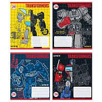 """Тетрадь 12 листов линия """"KITE"""" / Transformers"""
