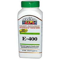 Витамин Е- 400, 21st Century Health Care, 250 кап.