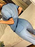 Жіночий річний трикотажний костюм (Туреччина);Розмір:50,52,54,56, фото 5