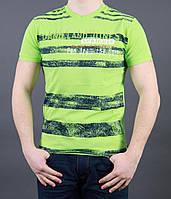 Мужская футболка с круглой горловиной