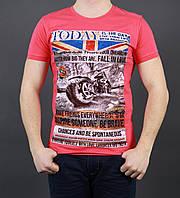 Мужская модная футболка с рисунком