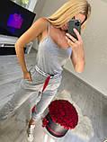 Жіночий річний трикотажний костюм (Туреччина);Розміри:з,м,л,хл, фото 2