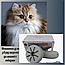 Машинка для сбора шерсти NO0500 Кота, собаки с Ковра, ламината, Дивана, Кресла, фото 8
