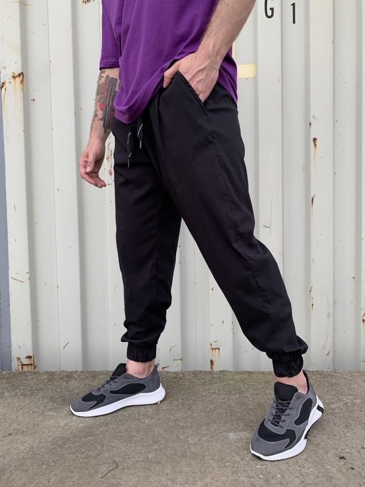 Спортивні штани чорні 21194
