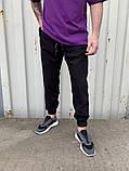 Спортивні штани чорні 21194, фото 2