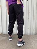 Спортивні штани чорні 21194, фото 3