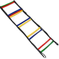 Координаційна сходи доріжка м'яка 6м (12 перекладин) FB-0503-6