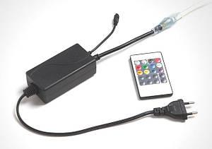 Контролер для LED RGB стрічки 220V 4Pin SL-750 IR пульт Код.59803