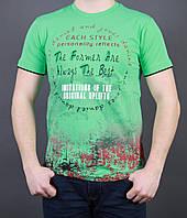 Мужская футболка классического кроя