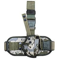 Кобура набедренная для пистолета Форт 12 с платформой пиксель