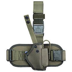 Кобура набедренная для пистолета Форт 12 с платформой олива