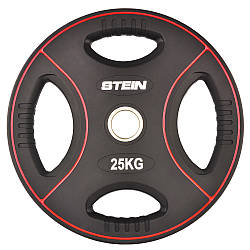 Диск поліуретановий чорний Stein 25 кг