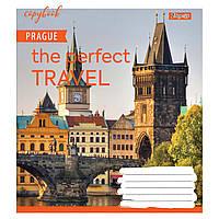 Набор тетрадей 5 штук 1 Вересня Perfect travel,A5 в клетку 48 листов 764941, фото 1