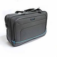 Горизонтальна сумка з поліестеру Mv-bags сірого кольору, фото 1