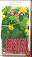 Семена огурец Кустовой (драже) 3г Зеленый (Малахiт Подiлля)