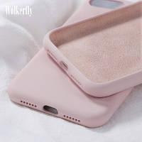 Чехол Silicone Case full для Xiaomi Redmi Note 10 Pro Pink Sand