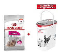 Royal Canin Mini Exigent 3кг - корм для собак міні порід вибагливих у харчуванні