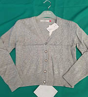 Кофта для девочек. р. 134-164, серый