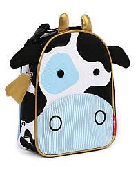 Детская термосумка Skip Hop Zoo lunch bag - Cow (Корова), 3+
