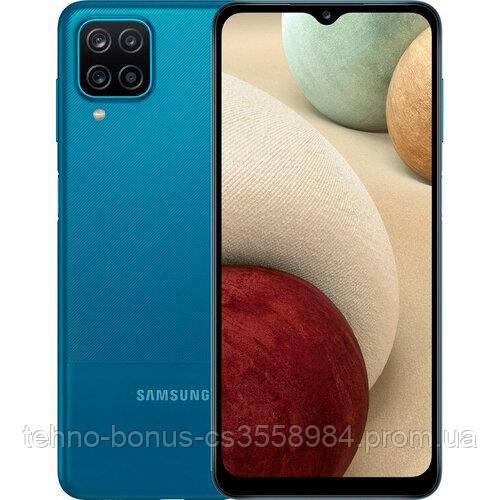 Смартфон Samsung Galaxy A12 SM-A125F 4/64GB Blue (SM-A125FZBVSEK)