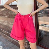 Жіночі літні шорти бермуди вільні