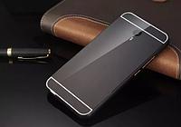 Чехол накладка бампер Mirro-like для Meizu M2 Note черный