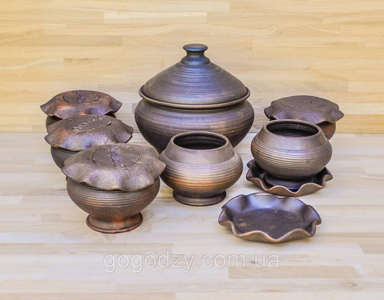 Набір гончарного посуду для духовки на 6 осіб