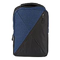 Чоловічий рюкзак молодіжний поліестер синій Арт.FM-902 Бренд (Китай)