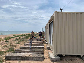 Дачный домик из контейнера, фото 3