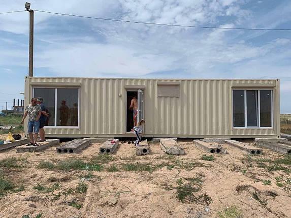 Дачний будинок з контейнера, фото 2