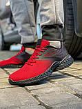 Кросівки чоловічі 18663, Alfabounce червоні, [ 40 41 42 43 44 45 ] р. 40-26,5 див., фото 2