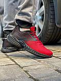 Кросівки чоловічі 18663, Alfabounce червоні, [ 40 41 42 43 44 45 ] р. 40-26,5 див., фото 7